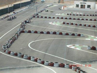 Carrera de karting infantil Cartagena