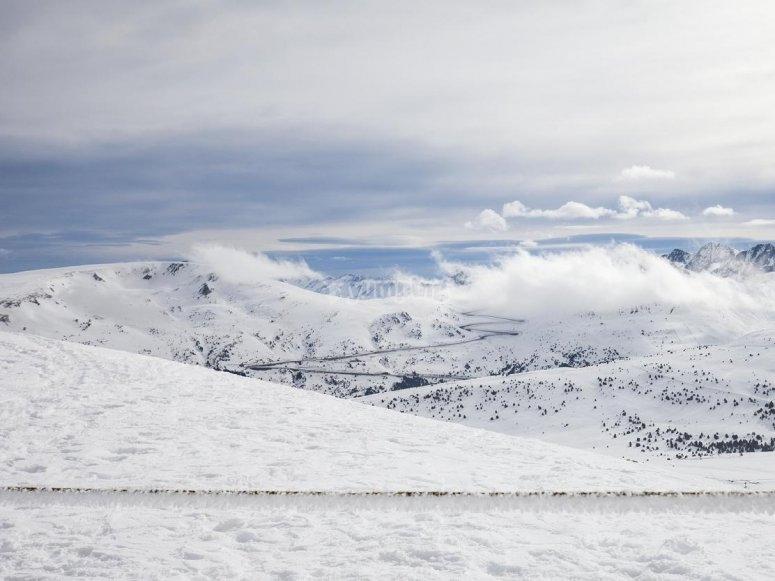 Snow sports in Grandvalira