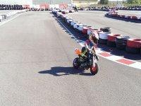 Alquiler de pista para minimotos