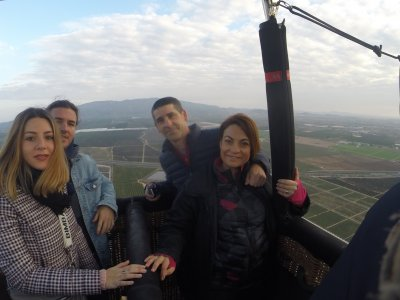 Hot-Air balloon flight in Murcia