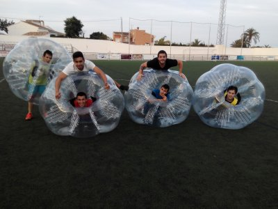 Bubble Football Marina Alta