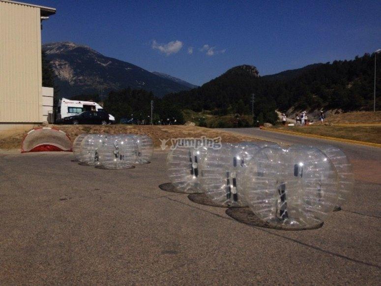 Burbujas preparadas