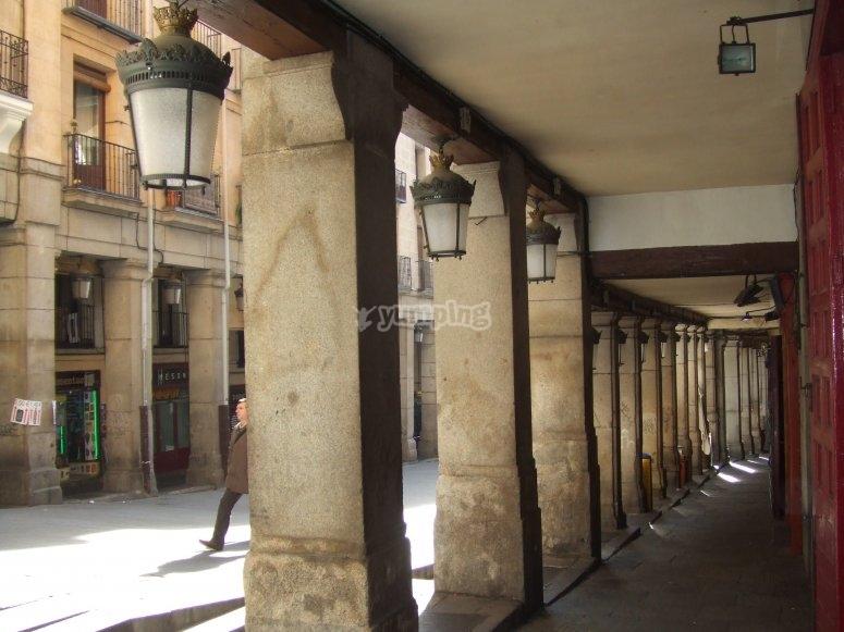 Soportales Plaza Mayor