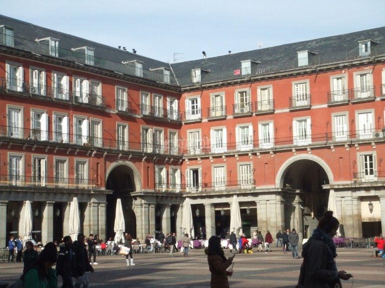 Vistas de la Plaza Mayor