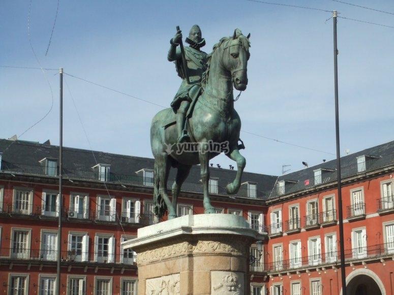 Estatua de la Plaza Mayor