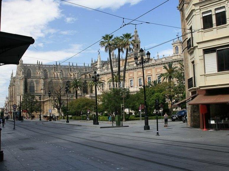 Seville trolley car