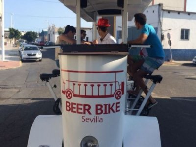 Beer Bike in Seville with 5 liters of Beer