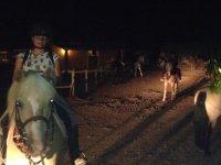 Lunada a caballo Ibiza 1 hora