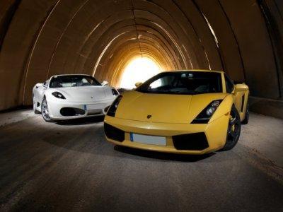 Ferrari o Lamborghini + Hotel La Cabrera Madrid