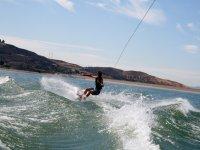 Disfruta del wakeboard