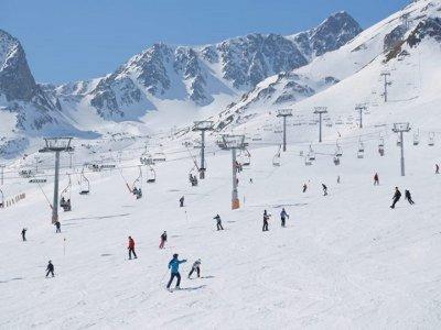 安道尔的滑雪课程3天