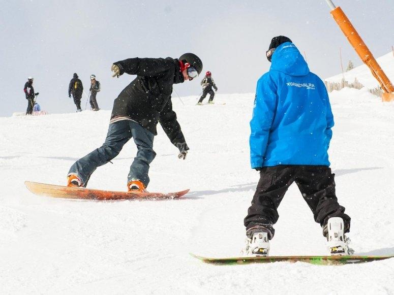 单板滑雪课程