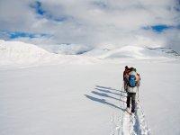 哈卡的雪鞋行走路线半天