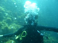 First diving dive Girona