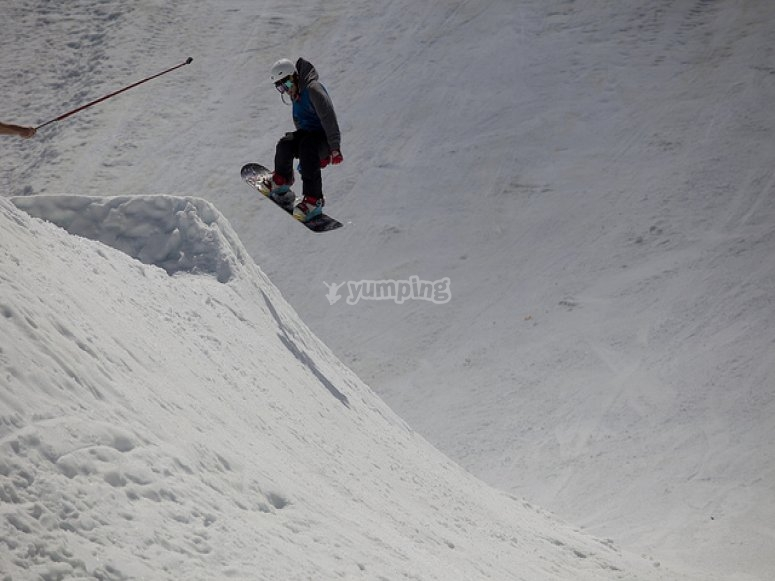 Snowboard courses