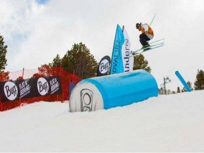 Clases freestyle Grandvalira esqui 3 horas