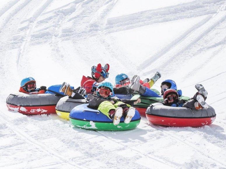 Snowtubbing en Grandvalira