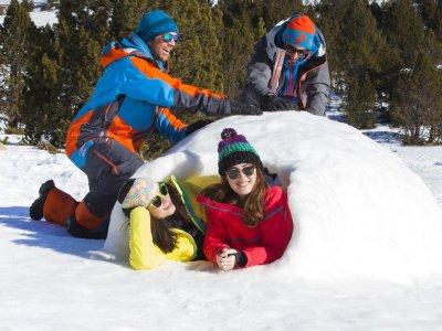 Pack 5 actividades de nieve y balneario Andorra