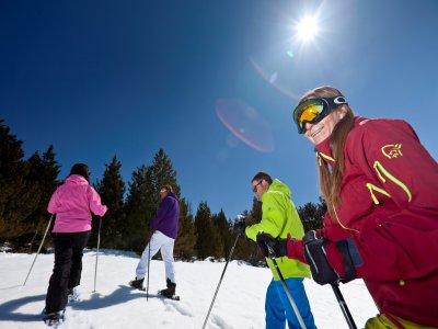 Hotel del hielo, media pensión y raquetas Andorra
