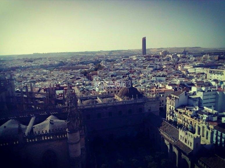 Panoramica de Sevilla