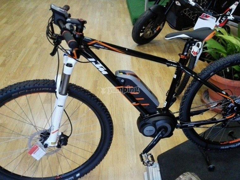 State-of-the-art bike