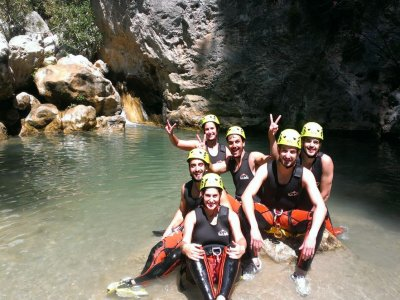 Canyoning in the Verde River, Granada, 3h