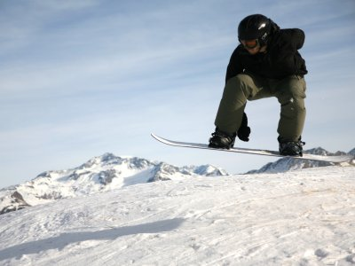 Backcountry freestyle de snowboard Cerler 2 días