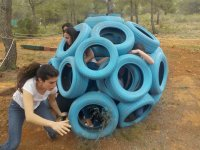 Circuito di sfida a Estivella gymkana per gruppi