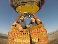 Giro in mongolfiera a Murcia con hotel e spa