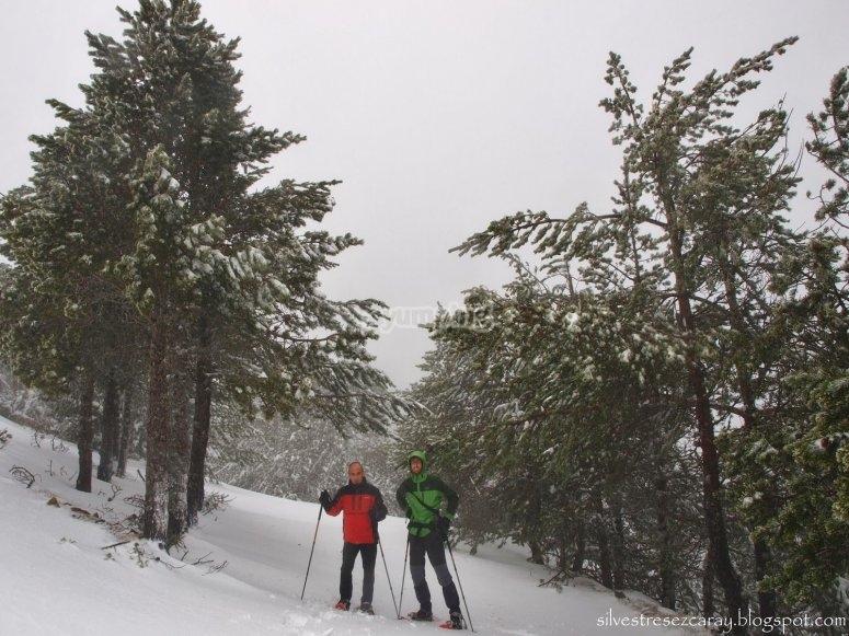 raquetas de nieve La Rioja