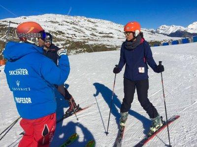 Curso de esquí en Baqueira 5 días 15 horas