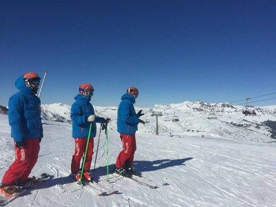 Aprender esquí en Baqueira fin de semana 6 horas