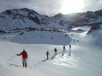 Excursión raquetas de nieve León y circuito termal