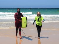 私人冲浪课-在蓬塔帕洛玛(Punta Paloma)海滩上的冲浪专家