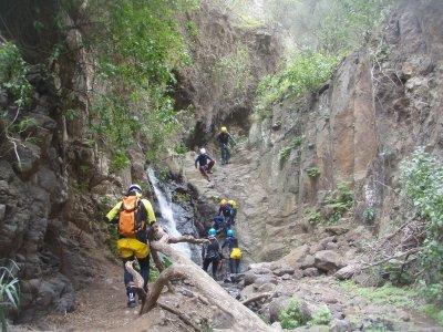 Descenso de barranco de los Cernícalos y fotos