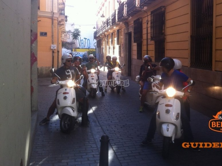 Scooter route