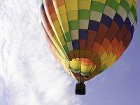 给气球飞行