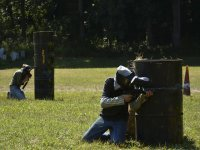 Stage of paintball in Segovia