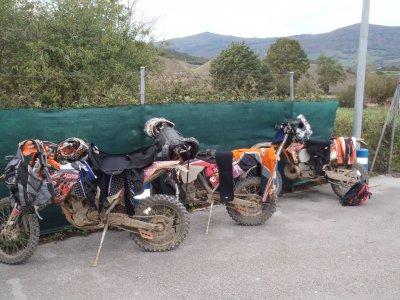 Renting Enduro material in Burgos