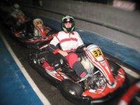 Carrera karting Barcelona y cena de empresa