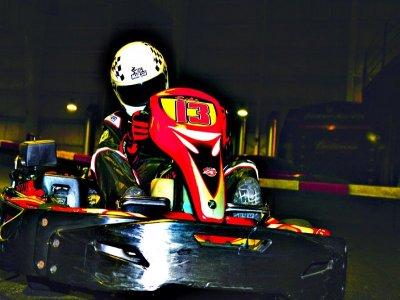 Gran Premio karts Barcelona y Cena de Navidad