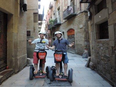 引导赛格威路线2小时巴塞罗那