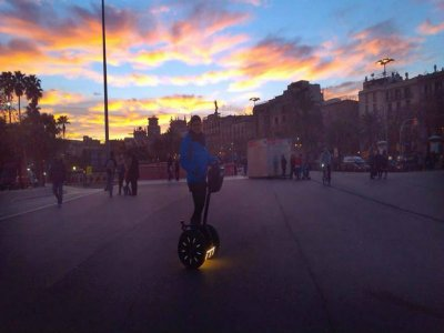赛格威乘车前往巴塞罗那2小时