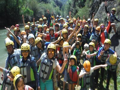 漂流Almadenes峡谷,洞穴和照片