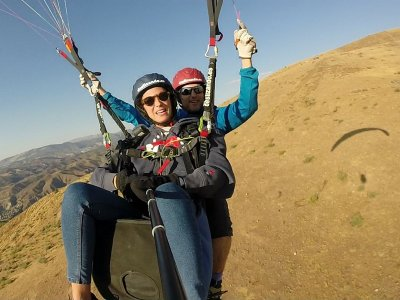 Tandem Paraglide Flight, Granada + Free Video