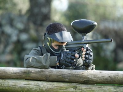 Paintball and archery in Badajoz