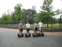 Segway with the team