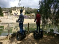 Visiting monuments on segway