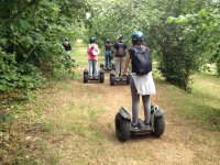 Team building on segway