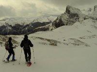 Raquetas de nieve en Cantabria